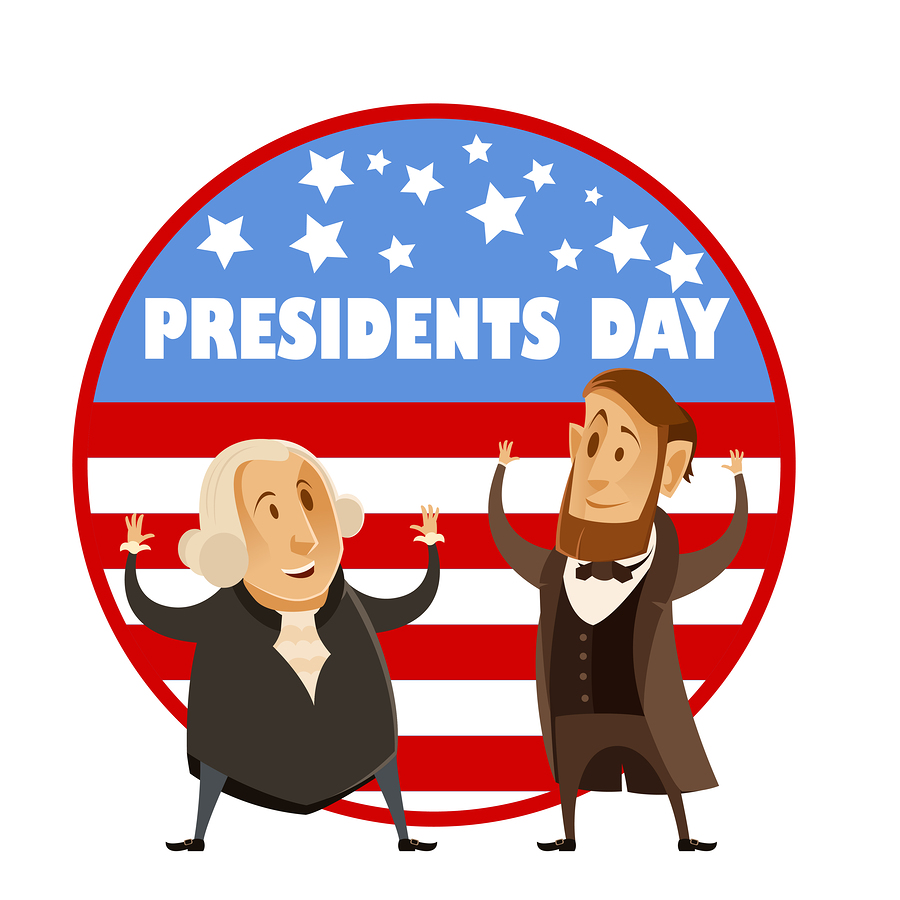 Image result for no school presidents day clipart