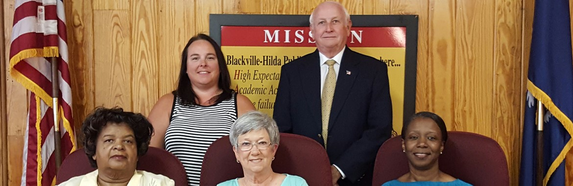 Blackville-Hilda School Board Members for 2016/2017
